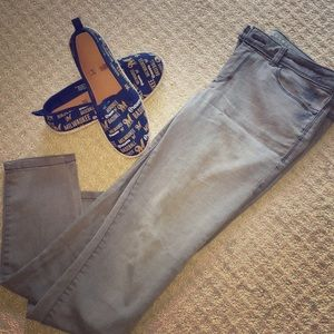 Grey LC Lauren Conrad Stretchy Jeans 👖